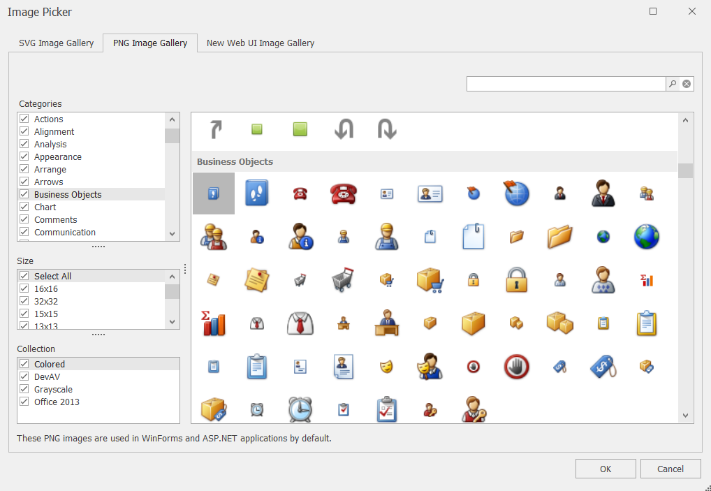 XAF - Improved Image Library Integration, SVG support and