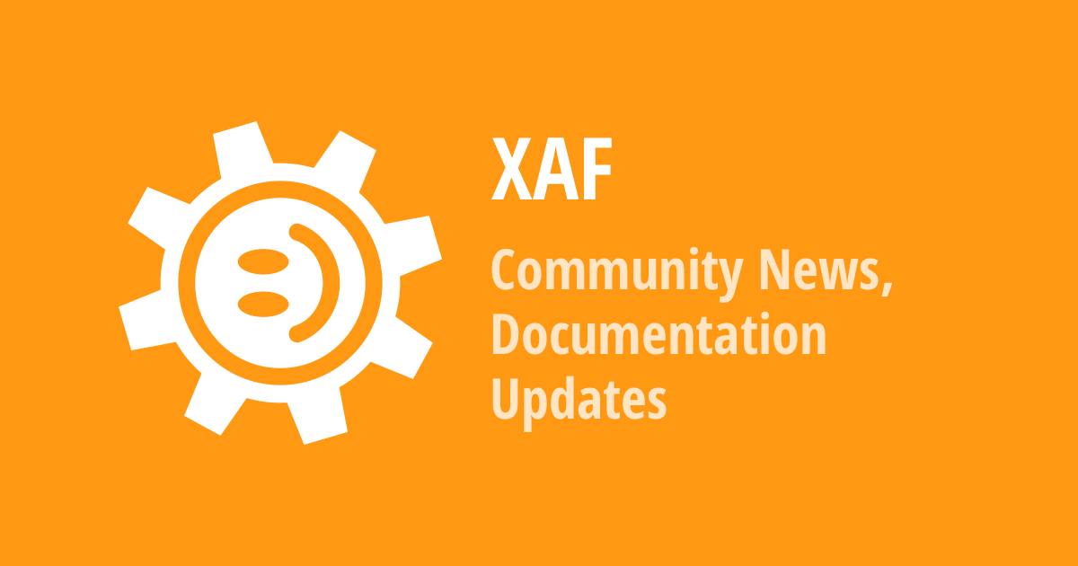 XAF - New Community Modules, Unit Testing Best Practices