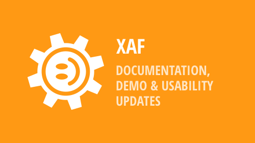 XAF - Updated demos, usability enhancements, important documentation updates and more (v18.2)