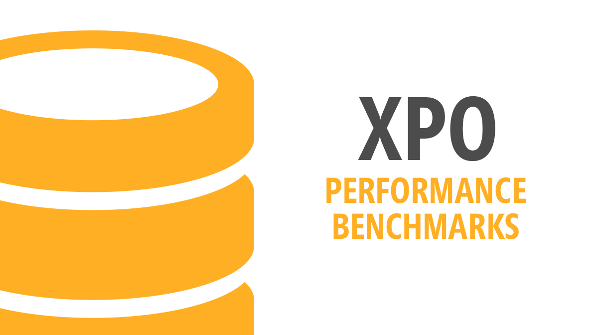 XPO - A simple benchmark against EF 6 and EF Core